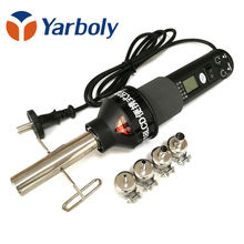 220V 450W  LCD Adjustable Electronic Heat Hot Air Gun Hair Dryer Soldering Station IC SMD BGA Rework 4 Nozzle 8018LCD vs 8858