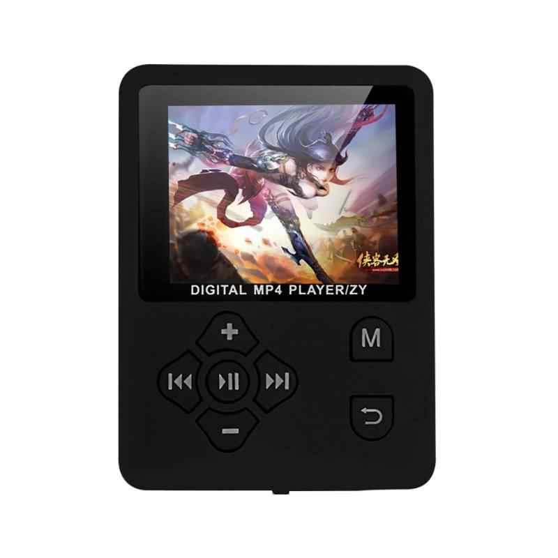 """1.8 """"Lcd スクリーン MP4 プレーヤーサポートからまで 32 ギガバイト TF メモリカード電子ビューアハイファイ FM ラジオミニ USB Mp4 音楽プレーヤーウォークマン"""