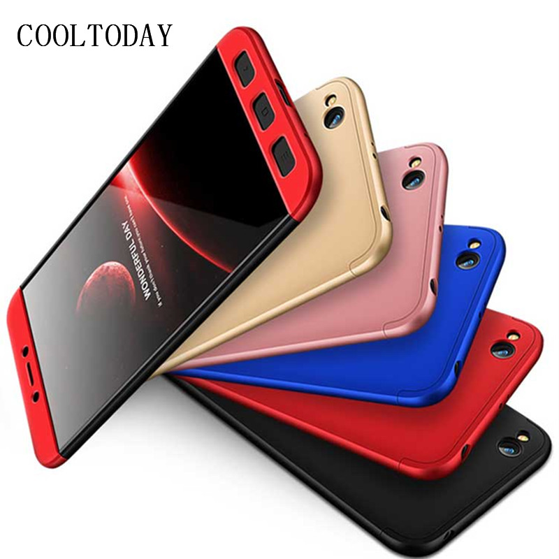 COOLTODAY Phone Case for Xiaomi Redmi 5A 5 A Redmi5A Back Cover 3 in 1 360 PC Full Protection Cases Redmi 5A Prime Phone Bag 5.0