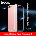 Mobile Phone Accessories Case For iphone 7 Case 4.7 inch Ultrathin Soft Clear Liquid PTU Invisible Cover For Apple iphone 7