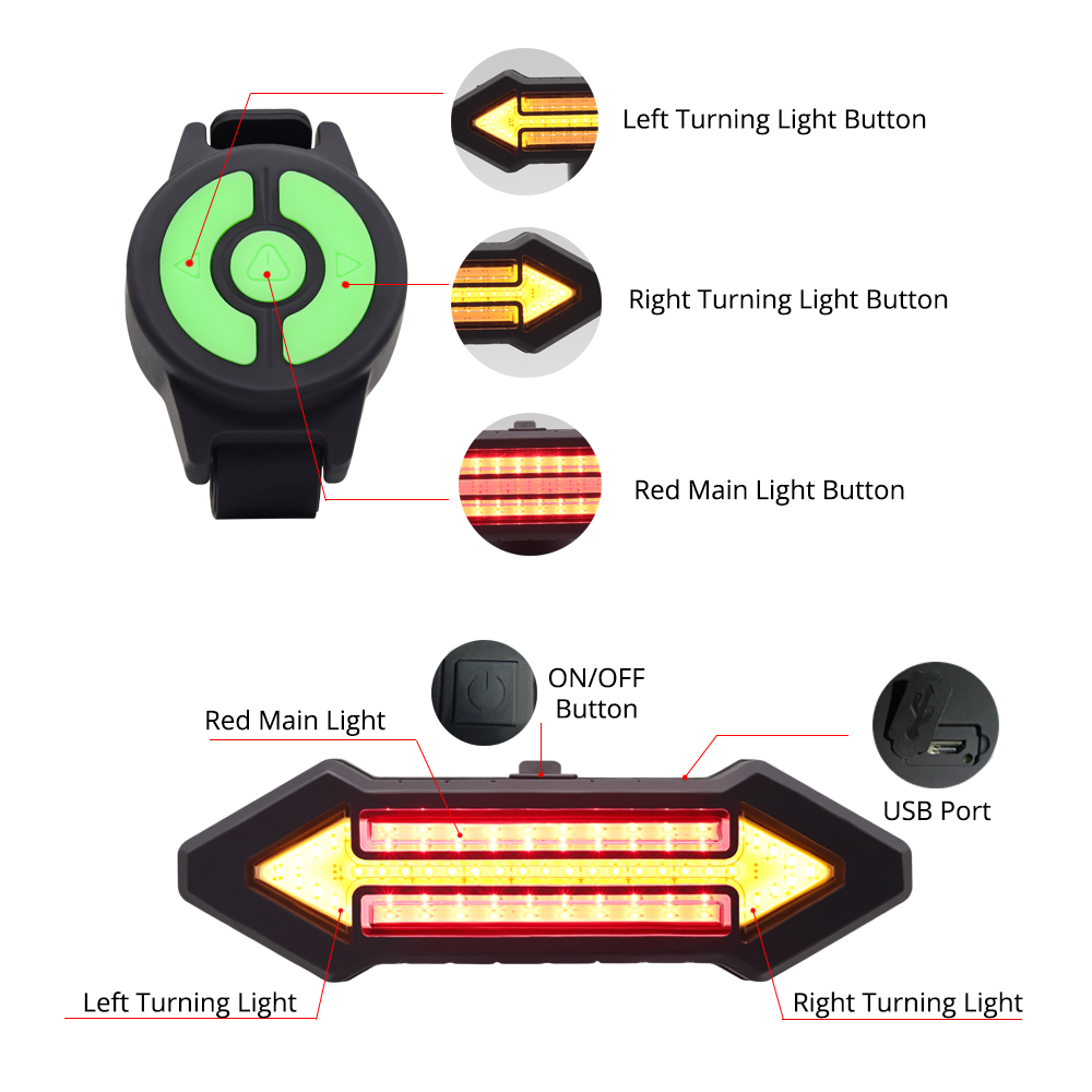 1.bike tail light