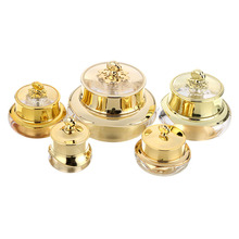 30g Crown Empty Makeup Sample Pot Bottle Nail Cosmetic Cream Lotion Container