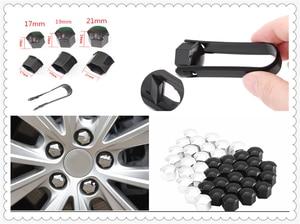 20Pcs car wheel nut cap screw housing decoration 17mm 19mm 21mm for KIA RIO K3 K4 K5 Sportage SORENTO venga Hyundai Avante