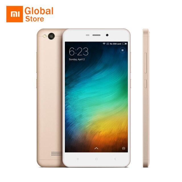 Оригинальный Xiaomi Redmi 4A 2 ГБ Оперативная память 16 г Встроенная память мобильного телефона Snapdragon 425 Quad Core 13MP 5.0 дюймов 1080x720 3120 мАч Miui 8 смартфон