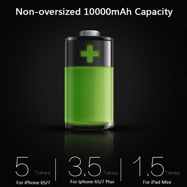 Power Bank 10000mAh Ultra tenká externá batéria výstup 2.1A vzor mozaika