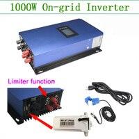 On grid инвертор для ветроэлектростанции чистая Синусоидальная волна 1000 Вт bult в ограничителе и wifi отслеживание сетки галстук инвертор 1kw 230 В с