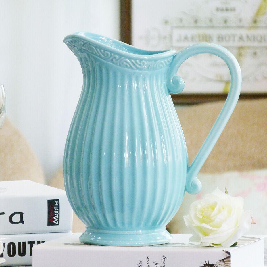 ️ blue hydrangeas!!! | Flower arrangements, Beautiful ... |Country Hydrangeas Vase