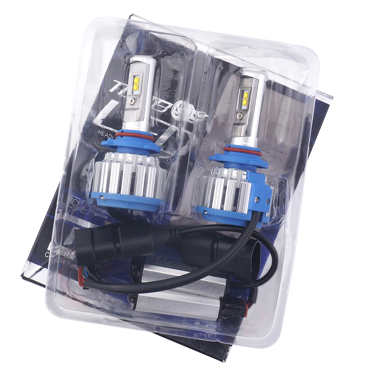 T1 Decoding Car LED Headlights Headlights Modification 9005 H1 H3 H7 H8 H9 H11 Highlight Light Bulb z90 in Car Headlight Bulbs LED from Automobiles Motorcycles