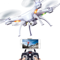 SYMA X5SW czterech osi samolotu telefon komórkowy wifi transmisji w czasie rzeczywistym zdalnego sterowania drone lotnicze zabawki samolotu