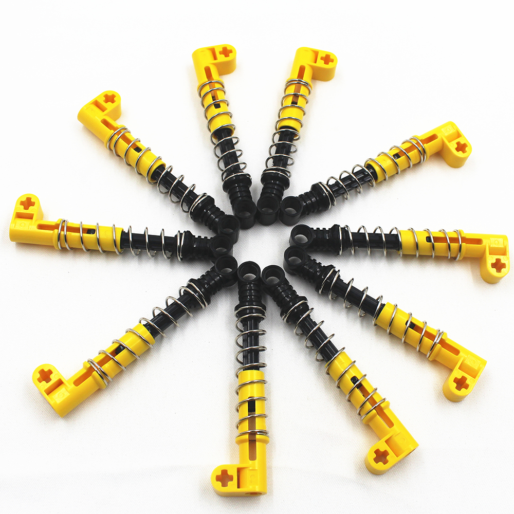 Building Blocks MOC Technic Parts 10Pcs Shock Absorber 9.5L (Hard Spring)  Compatible With Lego For Kids Boys Toy