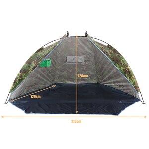 Image 3 - TOMSHOO חיצוני חוף אוהל שמש מקלט 2 אדם חסון 170T פוליאסטר שמשיה אוהל לדיג קמפינג טיולי פיקניק פרק