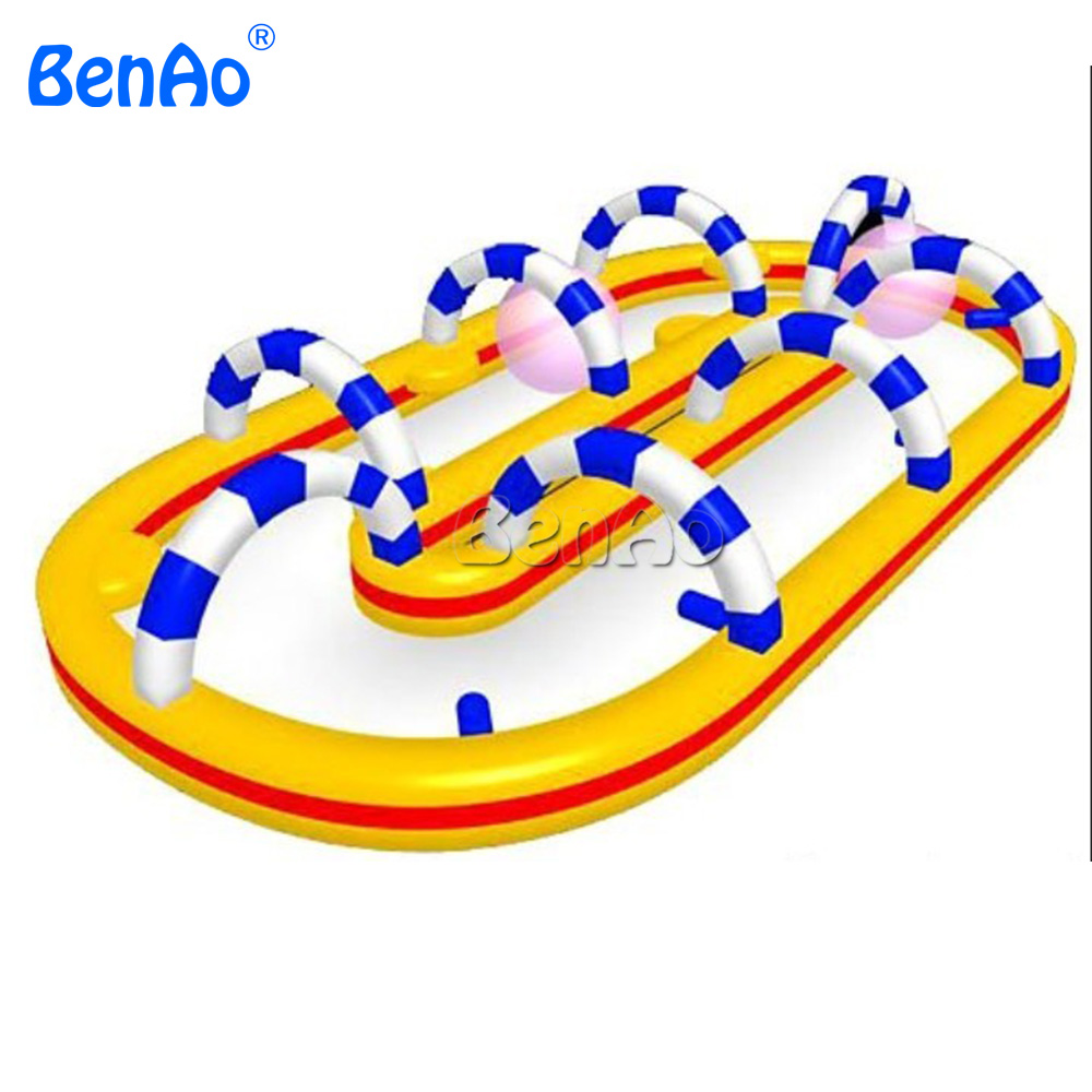 S013 BENAO inflatable race track,inflatable obstacle sport games, inflatable race track for sale ...