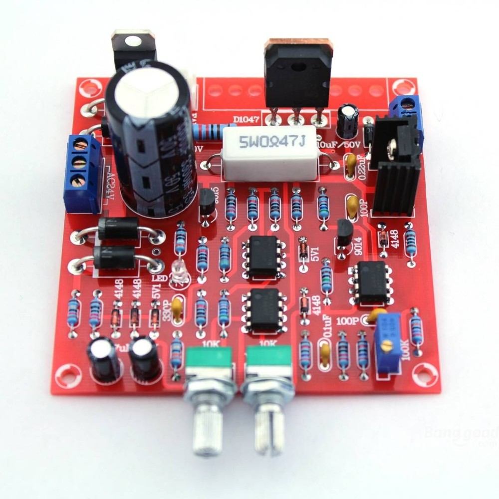 TGETH DC Regulated Power Supply DIY Kit Continuously Adjustable Short Circuit Current Limiting Protection DIY Kit 0-30V 2mA-3A wcs1600 hall current sensors measuring 100a short circuit overcurrent protection module