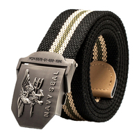 Navy Seals Tactical Gear Canvas Belts Mens Special Forces Military Ceinture Equipment Strap OPS Combat Woven