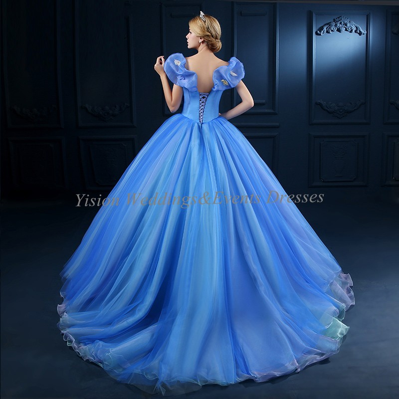 Cinderella Forever Enchanted Keepsake Boat Neck Ball Gown Prom ...