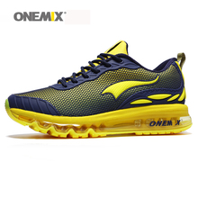 New Onemix mens running shoes breathable mesh adult sneakers women athletic outdoor sport shoes Eur35-46 free shipping