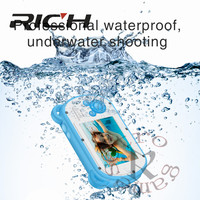 2.7inch K6 HD LCD Screen Mini Cartoon Camera Kids Gift Underwater Photo Super Waterproof Anti Shock Digital Camera for Swimming