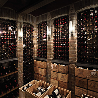 how to build a cheap wine cellar