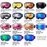 Ski Goggles Double Lens UV400 Anti Fog Ski Snow Glasses Skiing Men Women Winter Snowboard Goggles