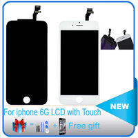 OEM Quality For Apple IPhone 6 LCD Complete Display Screen With Touch Glass Digitizer Assembly Replacement