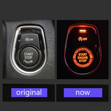 Start Stop Engine Button One-Key Switch Cover Decor Non-rusting For BMW-X Series