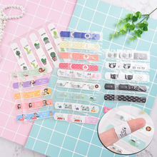 10pcs Waterproof Breathable Cute Cartoon Band Aid Hemostasis Adhesive Bandages First Aid Emergency Kit