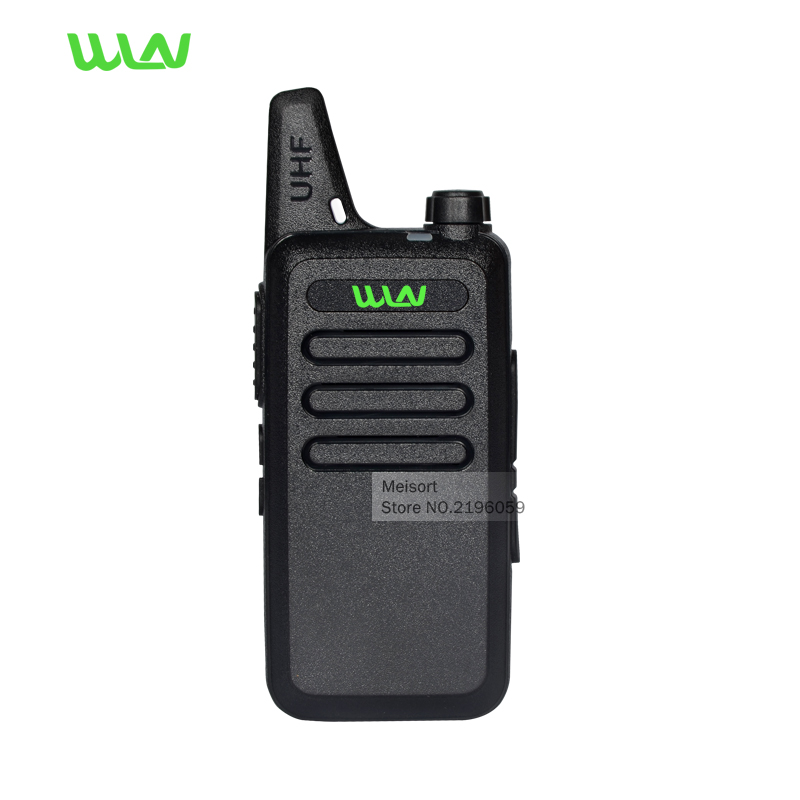 Portable Radio Set WLN KD C1 Mini Walkie Talkie UHF 400 470 MHz Handheld Two Way