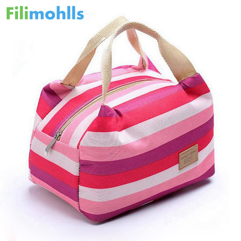 women bags lunch bag cooler insulated picnic bag kid oxford canvas bags women thermal insulation bolsa termica tote D10-74 aaa quality thermal insulated 3d print neoprene lunch bag for women kids lunch bags with zipper cooler insulation lunch box
