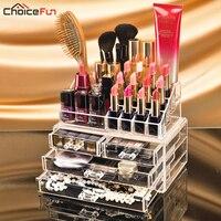 Makeup Organizer Storage Box Acrylic Make Up Organizer Rangement Maquillage Cosmetic Organizer Makeup Storage Drawers SF