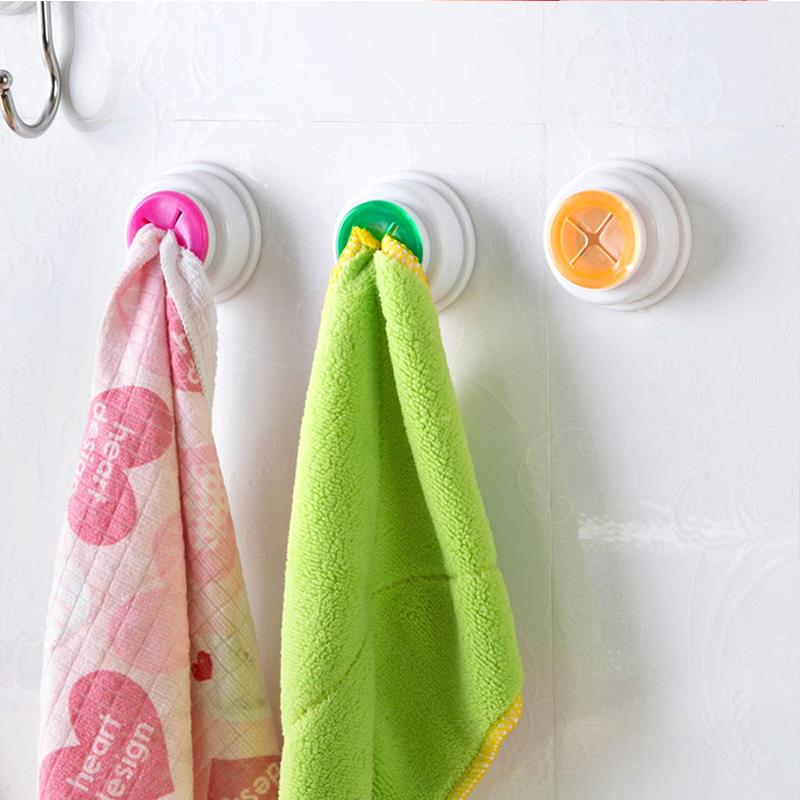 1PCS Wash cloth clip holder clip dishclout storage rack bath room storage hand towel rack Hot 2017