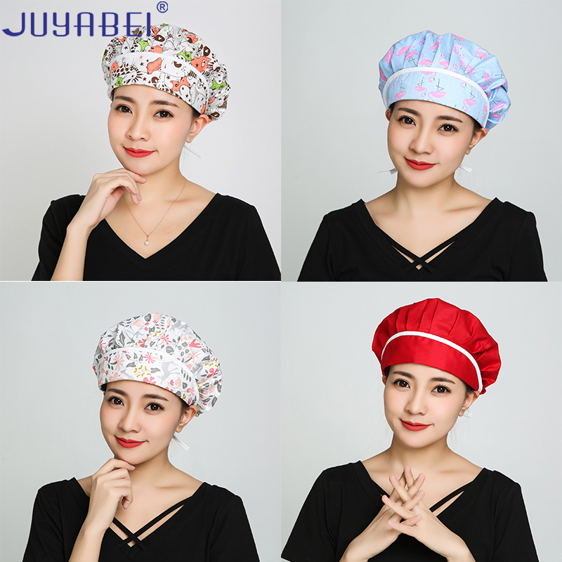 Unisex Chef Hat Food Service Hotel Restaurant Kitchen Health Cap Barbecue Baking Cooking Breathable Oil-proof Dust-proof Hat