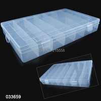 28 Slot Jewelry Rings Adjustable Tool Box Case Craft Organizer Storage Beads Compartments Containers JJALZBX16