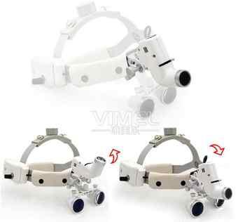 3.5X Dental LED Surgery Headlight Loupe Headband ENT Specific Surgical Headlamp