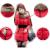Moda Otoño 2017 Mujeres del Invierno Largo Femenino Parka Chaqueta Caliente Abajo de la Capa Delgada Con Capucha Cuello de Piel Outwear Abrigos Con Cinturón