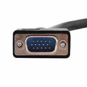 Image 2 - Mạ Vàng VGA 1 Đực Dual 2 VGA Nữ Adapter Chuyển Đổi Bộ Chia Y 0.25 M