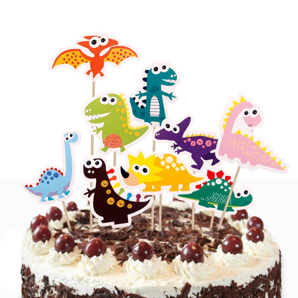 FENGRISE Birthday Dinosaur Balloon Baloons Party Decor Kids Jurassic World