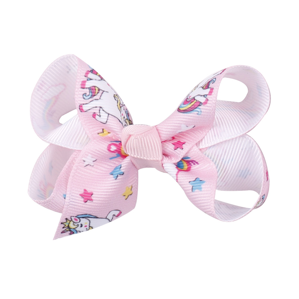 """8/"""" Children/'s Oversized Cartoon Bowknot Hair Bow With Alligator Clip Girl @jing"""