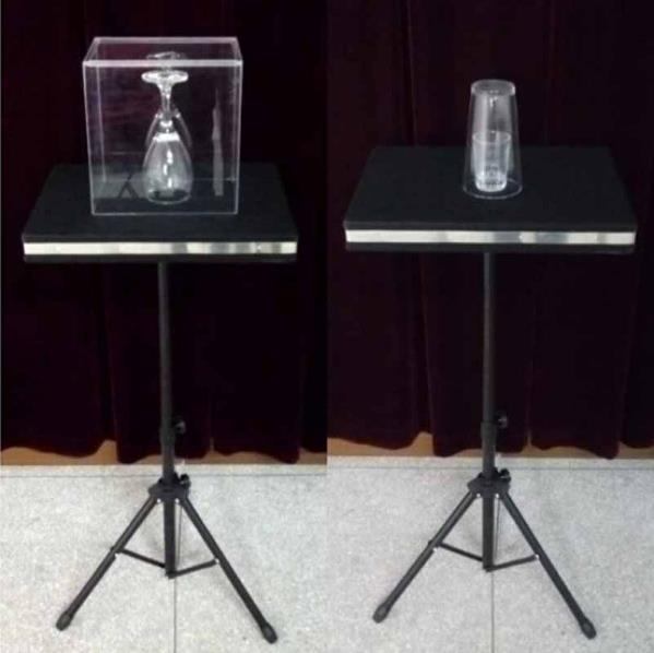 Remote control Glass Breaking and coin into glass table - Magic Tricks,Mentalism,Accessories,Illusion,gimmick light heavy box stage magic comdy floating table close up illusions fire magic accessories mentalism