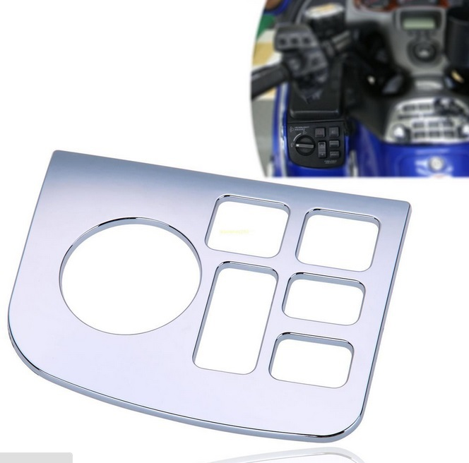 New Chrome Fairing Left Side Control Accent For Honda Goldwing GL 1800 2001-2011 chrome fairing headlight lower grill for honda goldwing 1800 gl1800 2001 2017 f6b 13 16