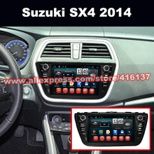 2 Din Android Car GPS Navigation For Suzuki Sx4 2014 with DVD MP3 Player Capacitive Touch Screen Android Octa Core system