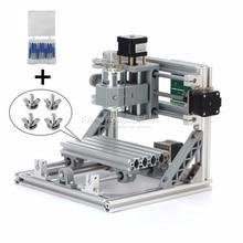 FREE TAX GRBL control mini CNC 1610 + 500mw laser CNC engraving machine