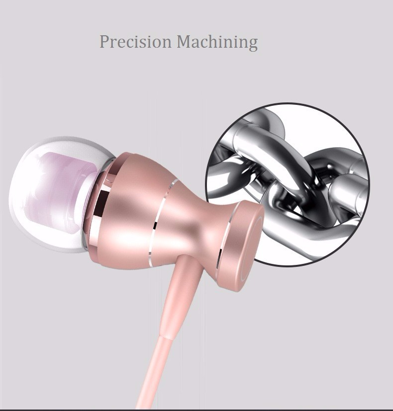 Magnetic Metal In-Ear Noise Reduction Headset for Sony Ericsson Mix Walkman fone de ouvido