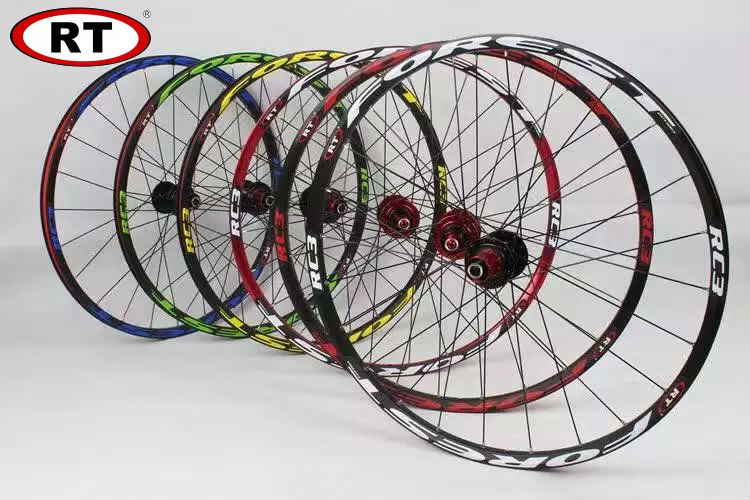 Free shipping mtb bike wheels rt rc3 wheel 26 27.5  1800g mountain bike ultra-light wheel bicycle wheels big hubs parts 6color mp620 mp622 mp625 projector color wheel mp620 mp622 mp625