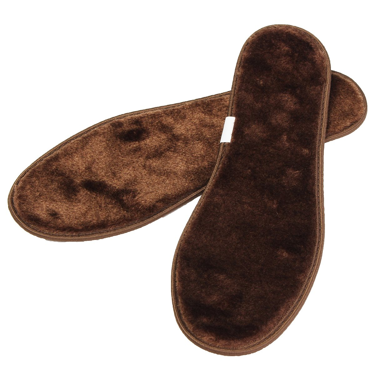 1 Pair Fur Shoes Insoles, Warm Thick Quality Breathable Winter Insole Pads Inner Soles Man And Women Snow Boot Size 36-45 Unisex