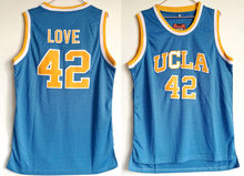 f0b730d3e Kevin Love ucla Jersey 42 UCLA Bruins College Basketball Jersey Men s Sport  Shirt All stitched