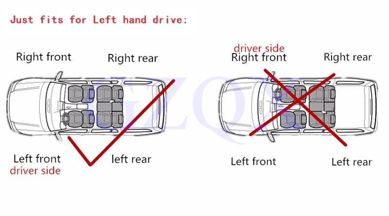 For left hand drive Indicatore di direzione Specchio posteriore Indicatore di direzione per Captiva 2007-2016