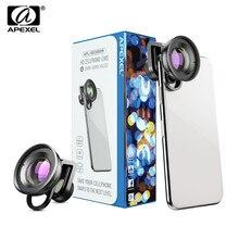 APEXEL 30-80mm Super Macro Lens Mobile Phone Camera HD Optic Lentes for iPhone 7 8 XR xs huawei xiaomi All smartphone