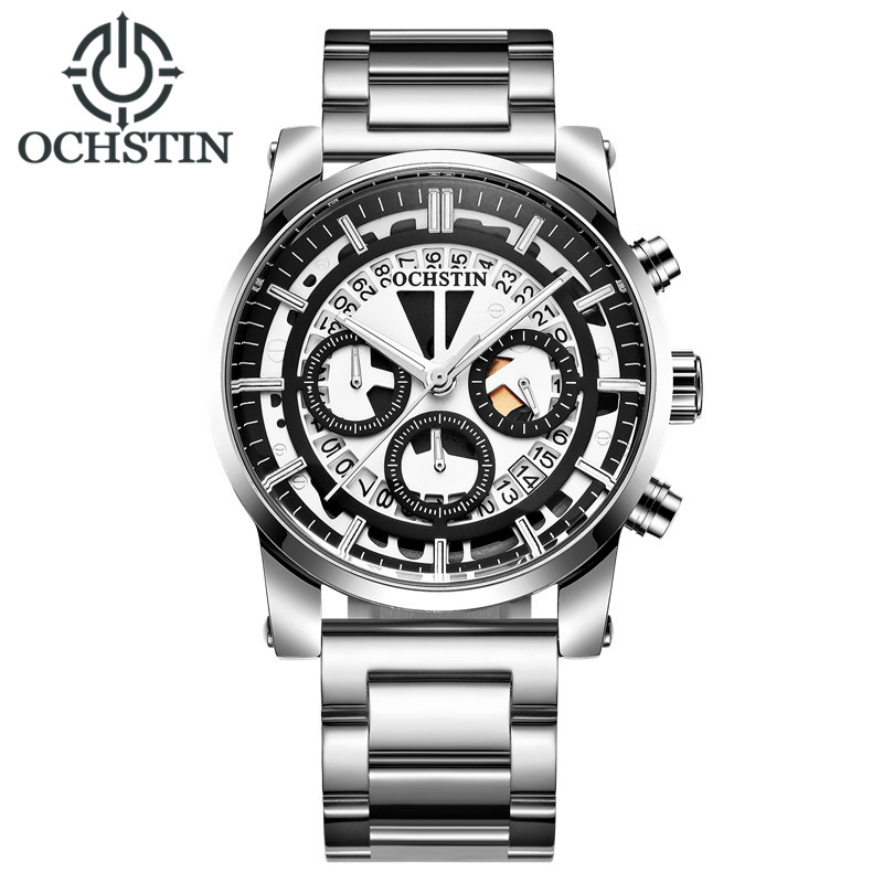 OCHSTIN Mens Watch Top Brand Luxury Male Fashion Casual Sport Quartz Chronograph Military Wrist Watch Men Clock relogio 2017 ochstin luxury watch men top brand military quartz wrist male leather sport watches women men s clock fashion wristwatch