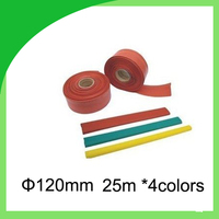 Горячие продаж 10KV 120 мм диаметр Высокое напряжение тепла hrinkable шин трубки 25 м/roll термоусадочные трубки