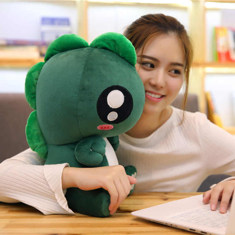 25-55 cm Pequeno Monstro Boneca Dos Desenhos Animados Plush Filme Toy Jogo Bonito Macio Stuffed Dolls Dinossauro Amigo Criança Kawaii presentes de aniversário